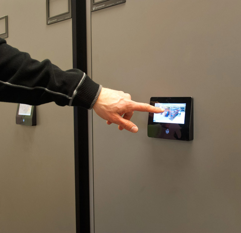 Touchpads prevent unauthorized access to confidential files