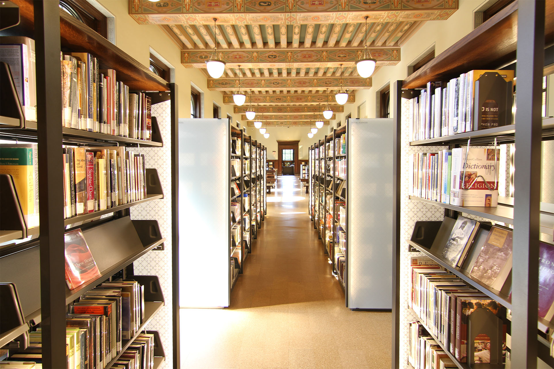 Compact Shelving In Historic Library Renovation