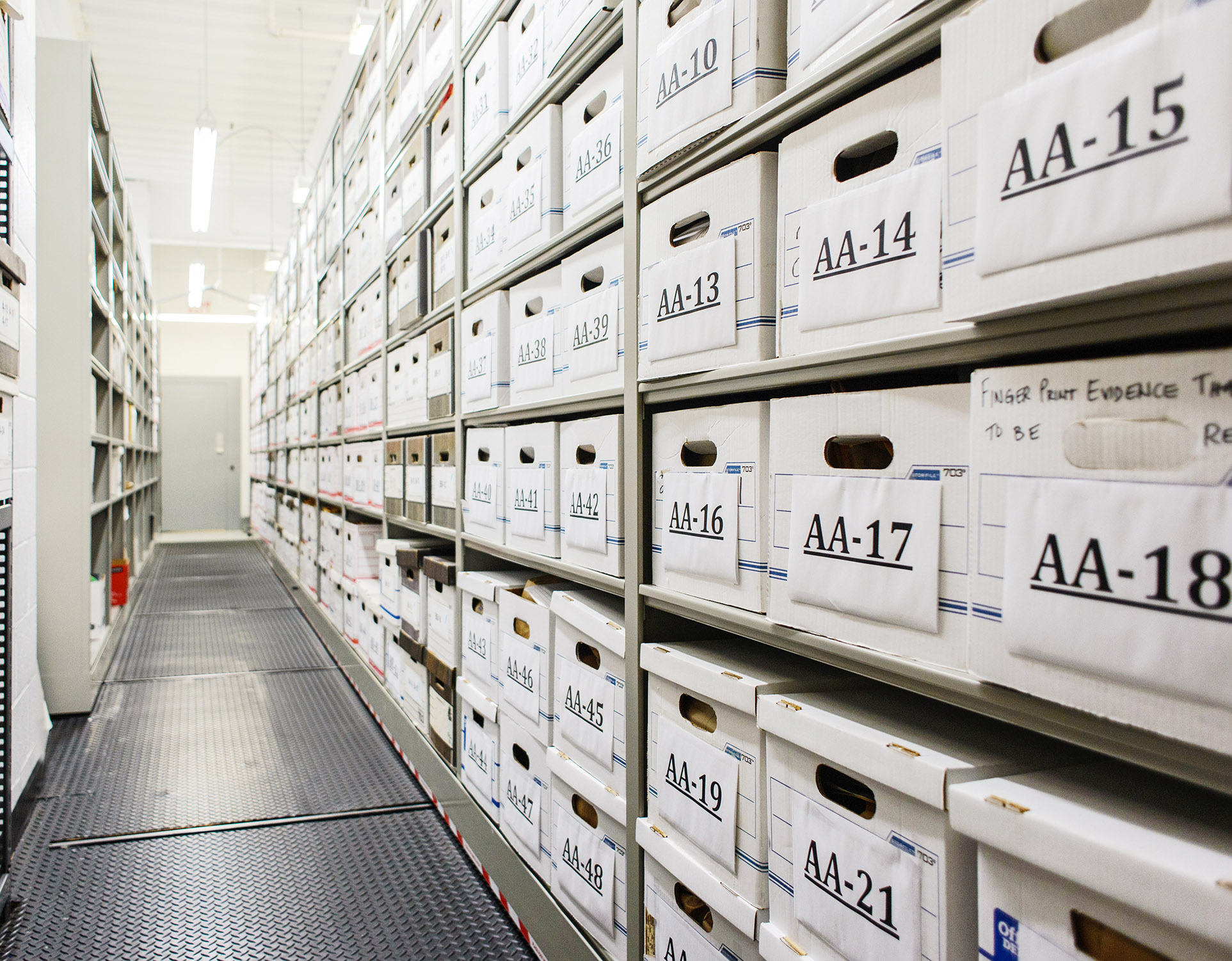 Evidence Storage Lockers Maintain A Secure Chain Of Custody