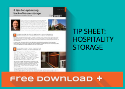Free Download of Hospitality Storage Tip Sheet