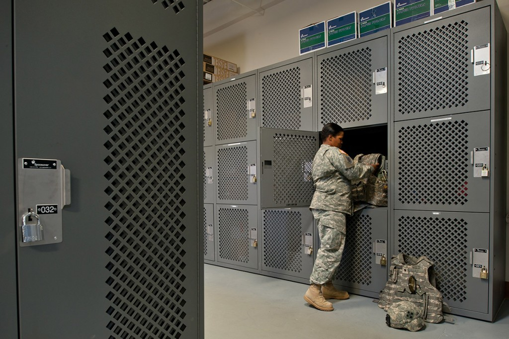 Personal Gear Storage, Fort Carson, Colorado
