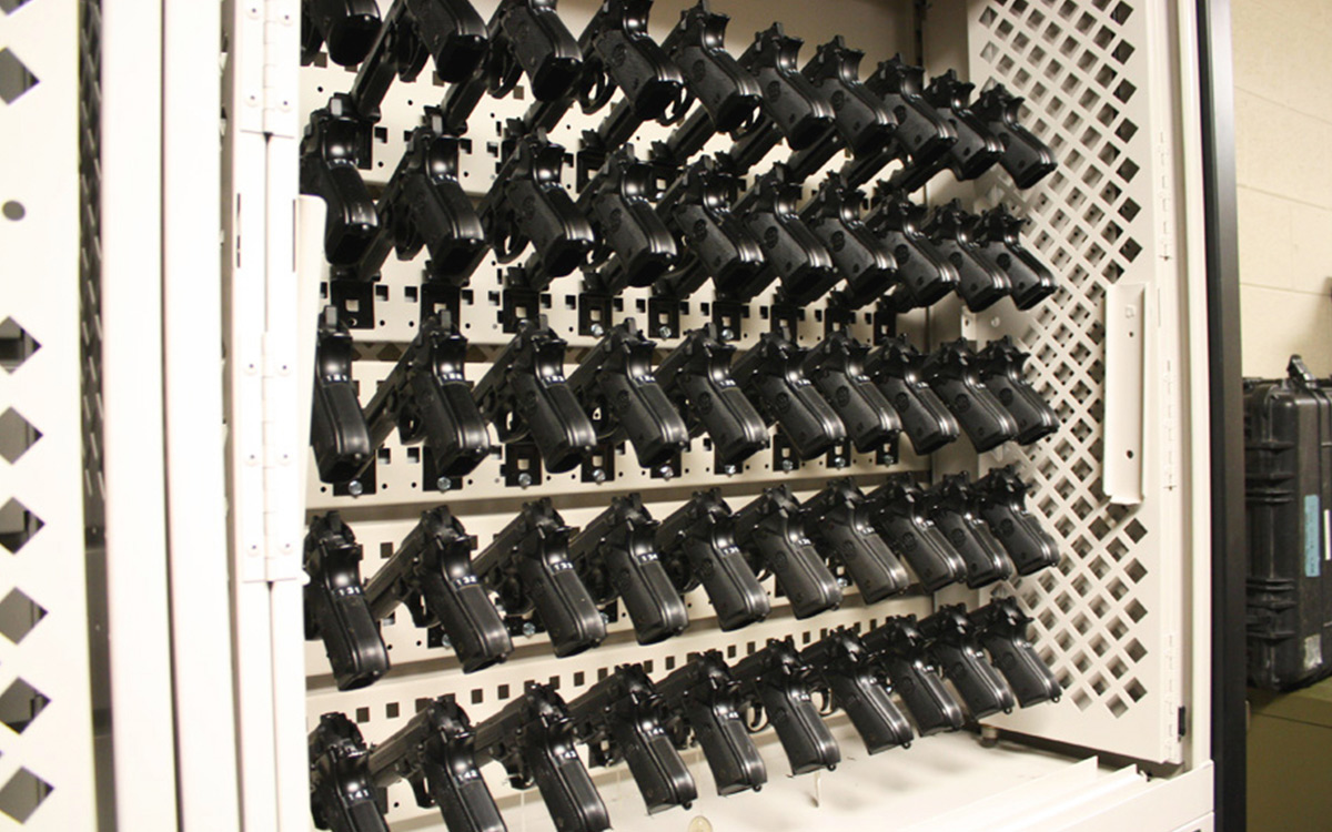 Weapons Storage Spacesaver Corporation
