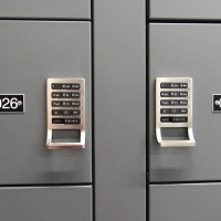 Spacesaver Wall Mounted Gun Locker with Digilock security