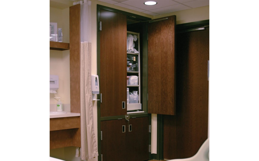 View of Nurse Server from Patients Room