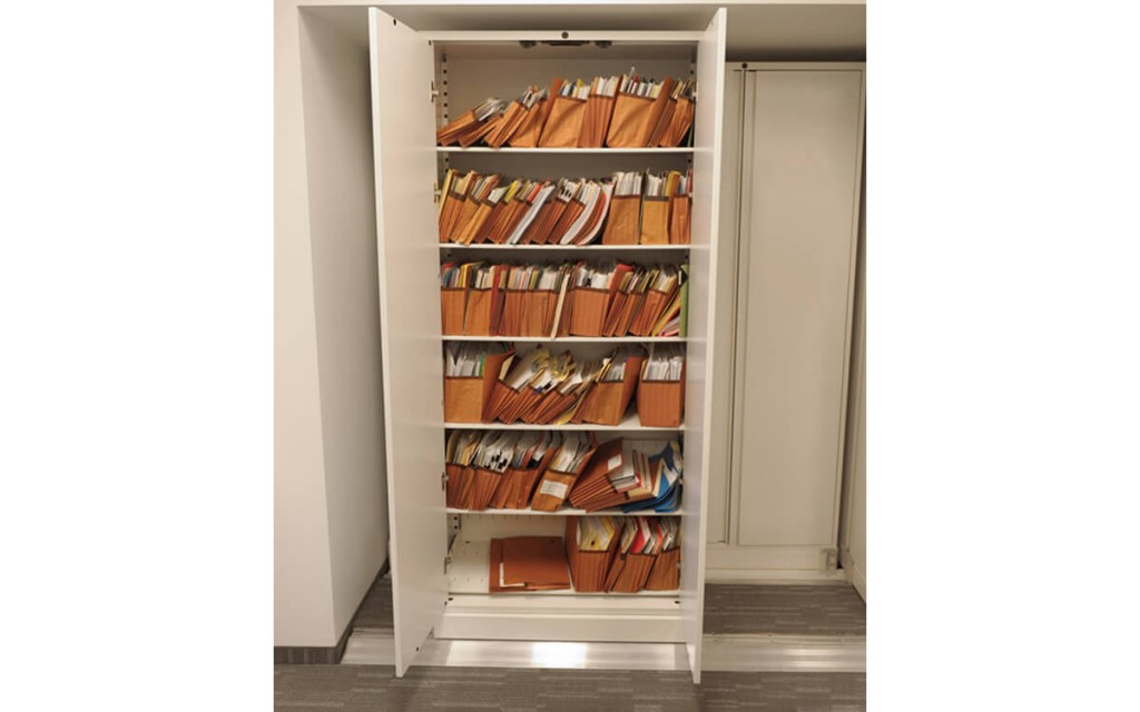 Lateral Bi-File Storage at a Toronto law firm