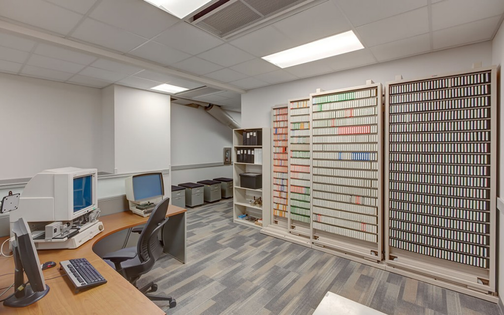 Lateral Tri-File Storage at Salt Lake City's Public Safety Building