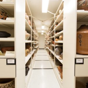 museum storage - visible collections