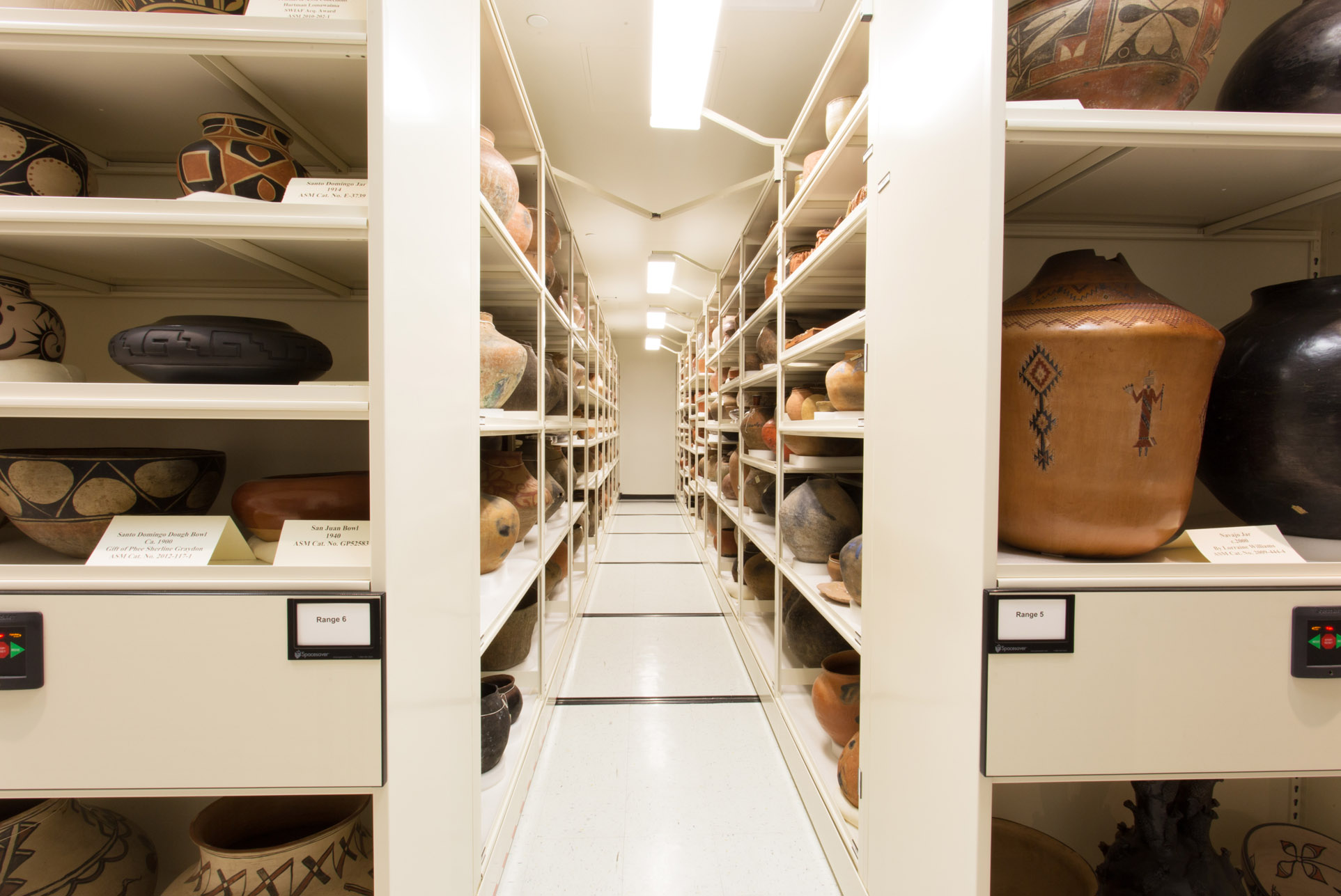 Museum Storage: Visible Collections
