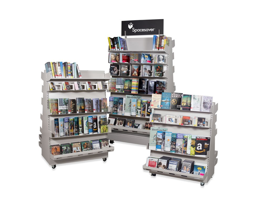library-media-display-library-shelving-A-frame