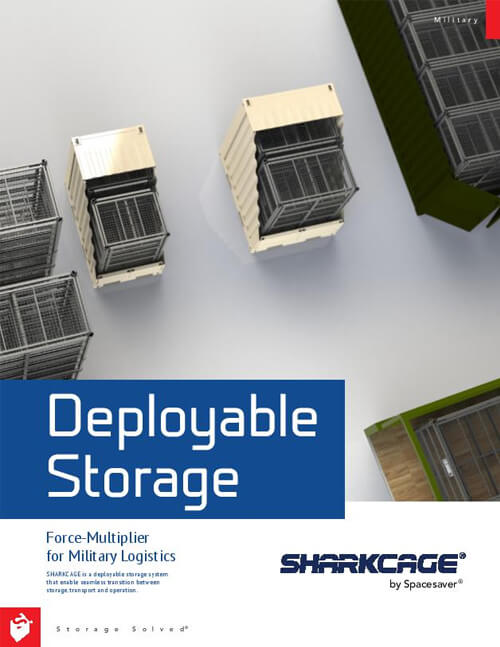 Download Brochure: SHARKCAGE® by Spacesaver Product Overview