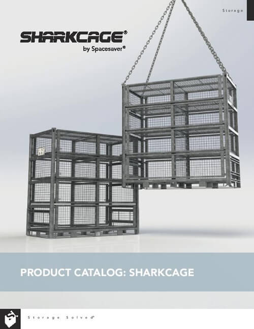 Download Product Catalog: SHARKCAGE® by Spacesaver