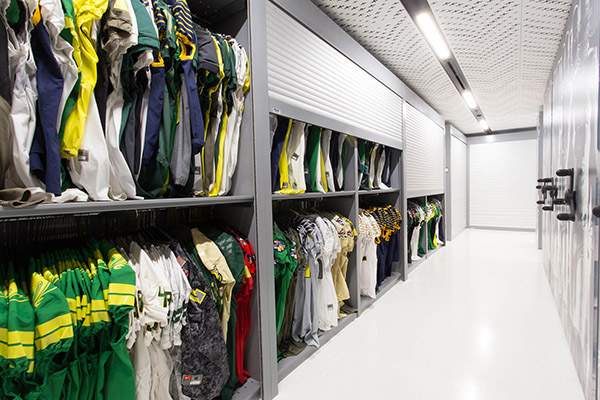 Athletic Equipment Storage Spacesaver