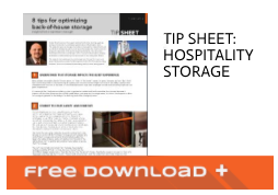 Free Download Tip Sheet: Hospitality Storage