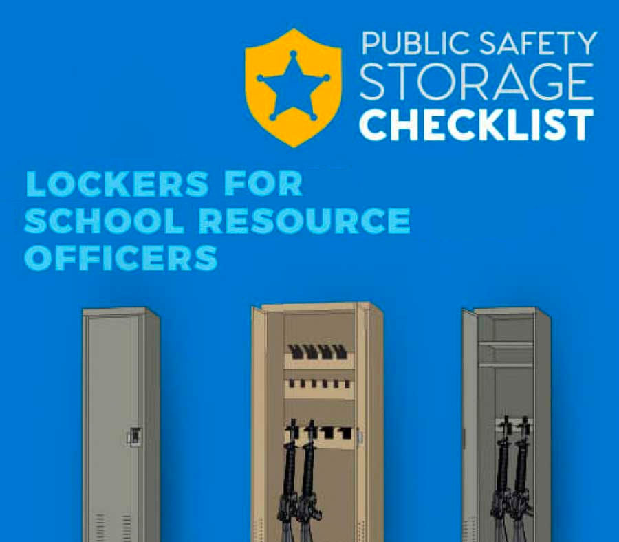Public Safety Storage Checklist: Fast Response Lockers for School Resource Officers