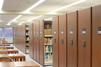 Library Shelving & Storage Solutions by Spacesaver