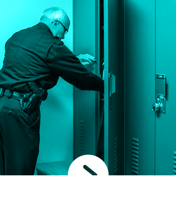 Police Department Officer Locker