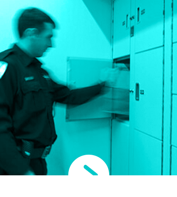 Police Department Secure Evidence Locker