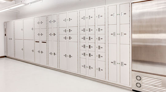 pacesaver Short Term Evidence Storage Lockers