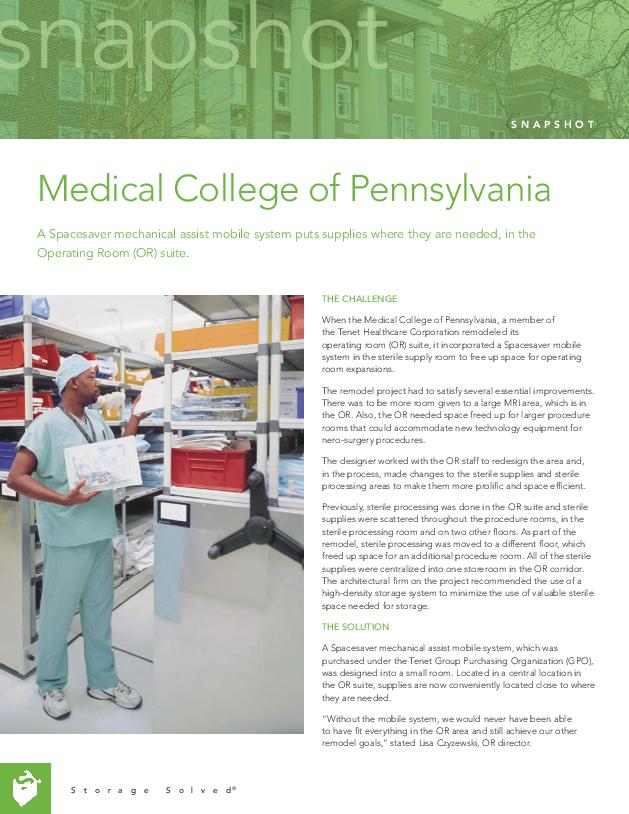 Free Download of Our Case Study on Medical College of Pennsylvania