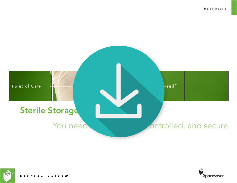 Free Download of Our Lookbook on Healthcare Sterile Storage Solutions