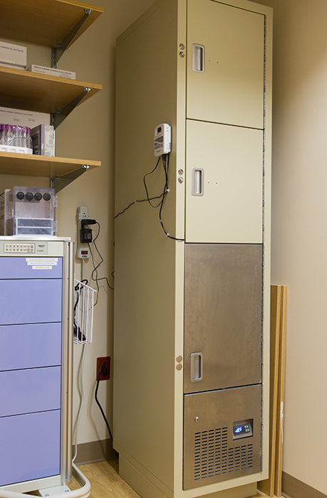 Healthcare Temporary Evidence Locker Storage Solutions