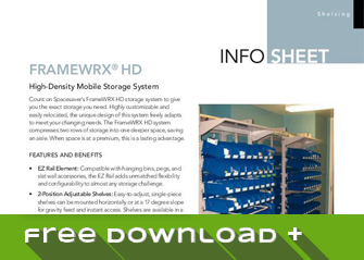 Free Download of Our Info Sheet: FrameWRX® HD