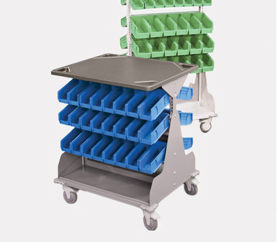 Healthcare Storage Products - Single Side Hospital Cart