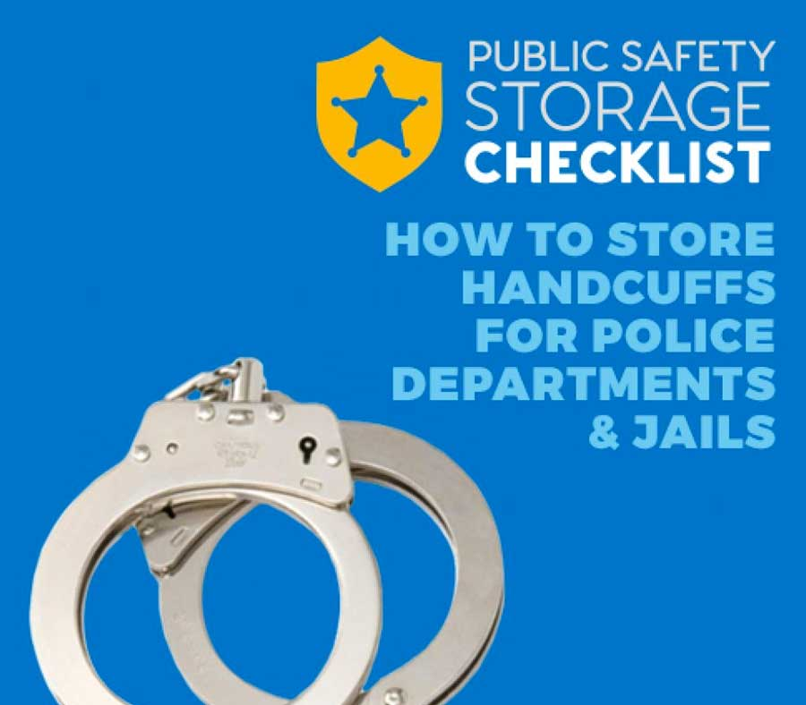 Public Safety Checklist - Handcuff for Police Departments & Jail