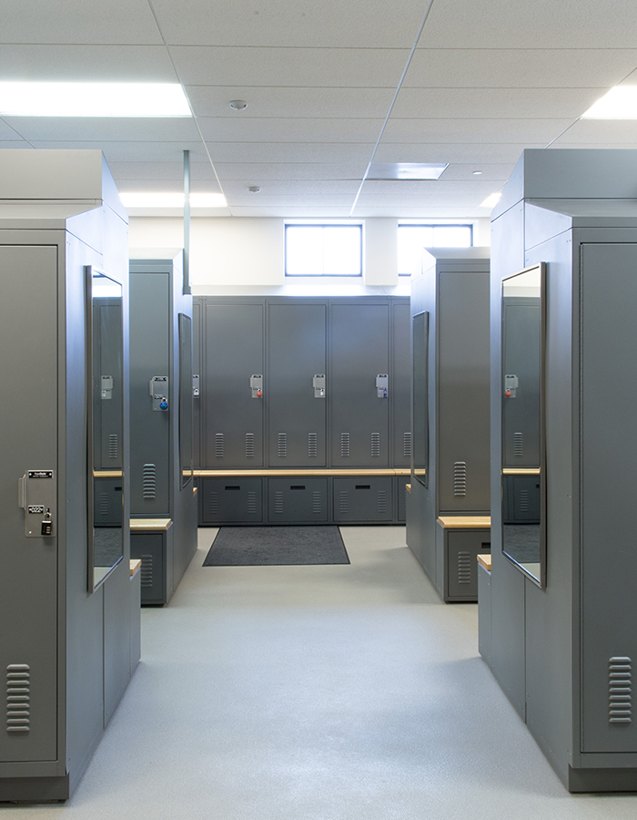 Law Enforcement Space Saving Locker Solutions