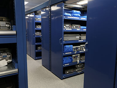 Healthcare Configurable Storage to Maximize Vertical Space