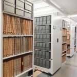 archives storage shelving