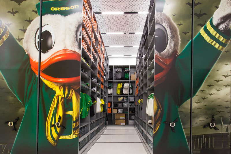 University Athletic Storage Equipment