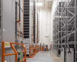 archives high bay shelving
