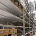 high-bay shelving