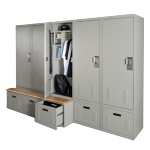 free style personal storage locker