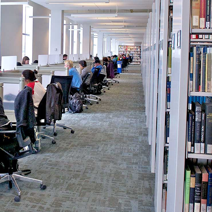 Compact Campus Library Shelving