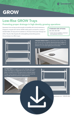 Download Info Sheet for Grow More in Same Space
