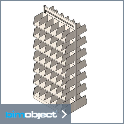 BimObject Shelving Revit Download