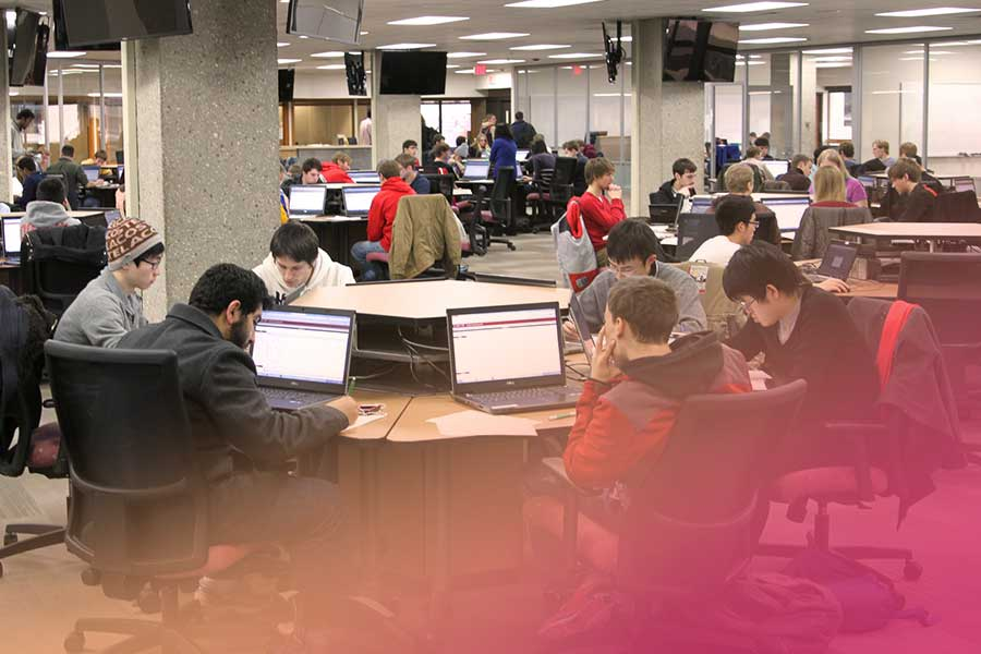 College campus coworking spaces