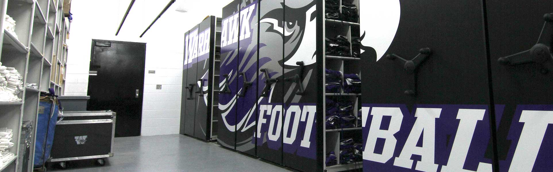 College Sports Team Storage