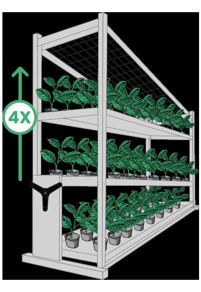 cultivation vertical grow