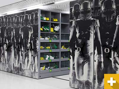 Oregon Football Athletic Storage Stories