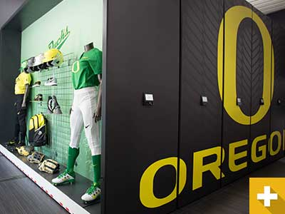 Oregon Softball Athletic Storage Stories