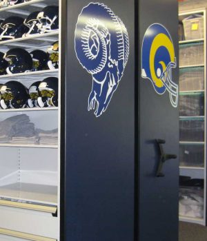 Football Equipment Compact Storage