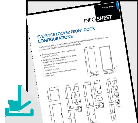 Download Info Sheet Evidence Locker Front Door Configurations
