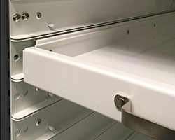 Preservation Cabinet - Channel-in-Channel Tray