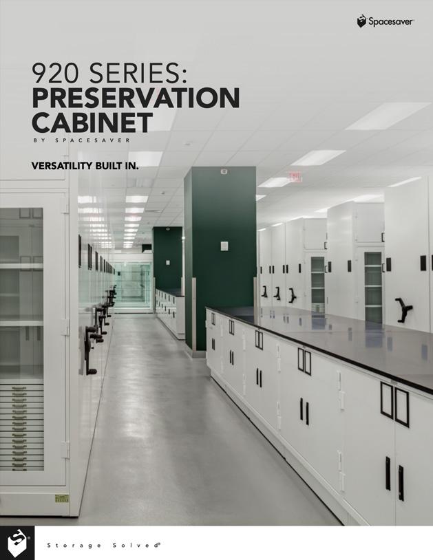 Download 920 Preservation Cabinet Product Brochure