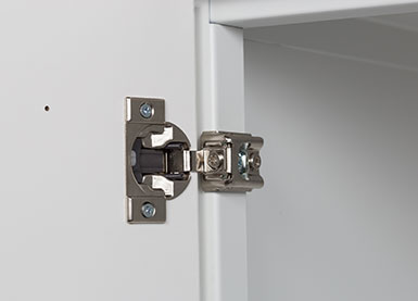 day use locker hidden hinges