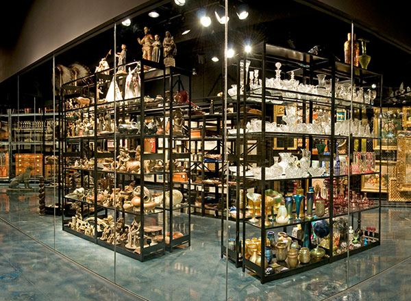 visible storage museum collection