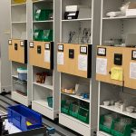 campus laboratory supply storage